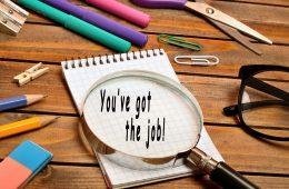 I've got a job!