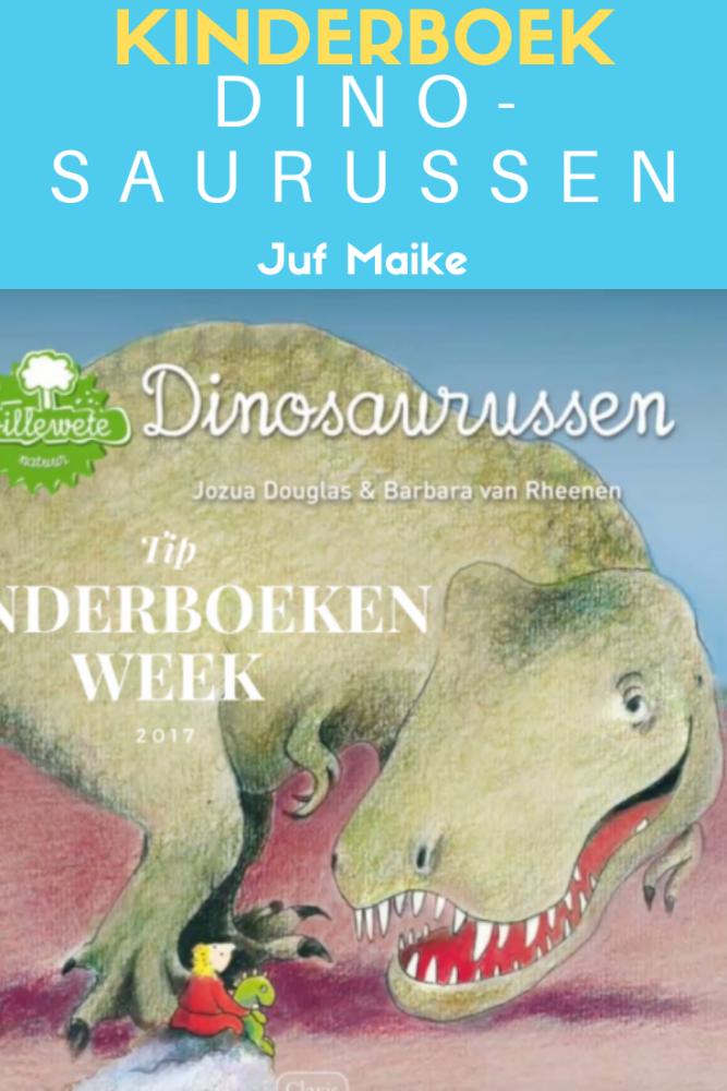 Dinosaurussen + lied door Jozua Douglas; Leuk bij Kinderboekenweek 2020 En toen?