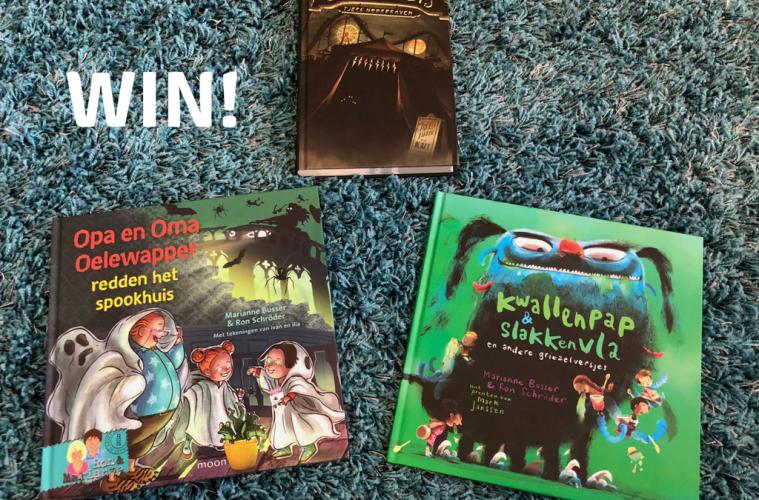 Win gruwelijk eng kinderboekenpakket