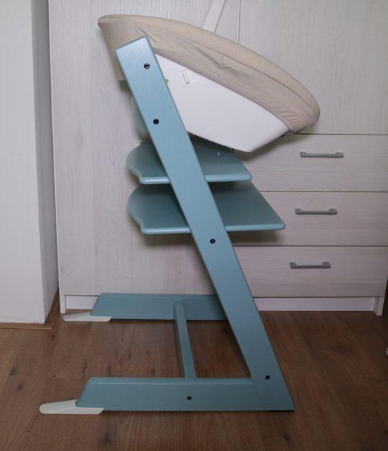 StokkeTripp Trapp in de kleur Aqua blue met Newborn set