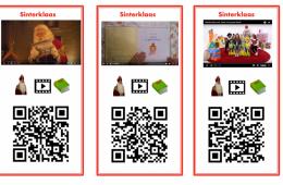 QR-kaarten Sinterklaas
