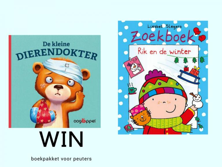 Win boekpakket voor peuters