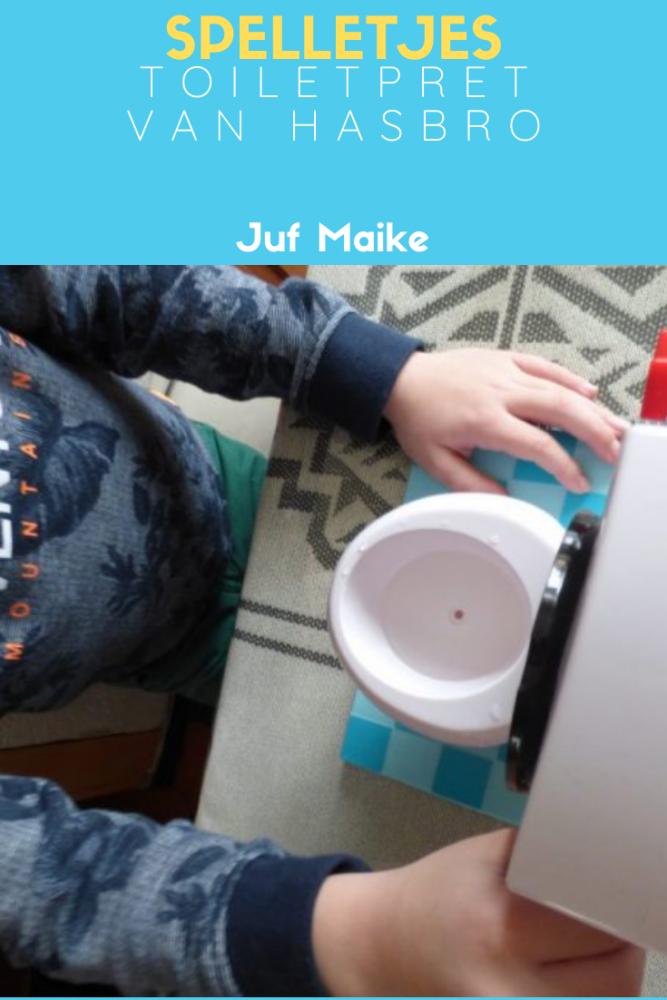 Toiletpret van Hasbro; Gezelschapsspel voor het gezin