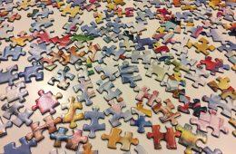 Ontspannen in de vakantie? Puzzelen met de kerst puzzel van Ravensburger