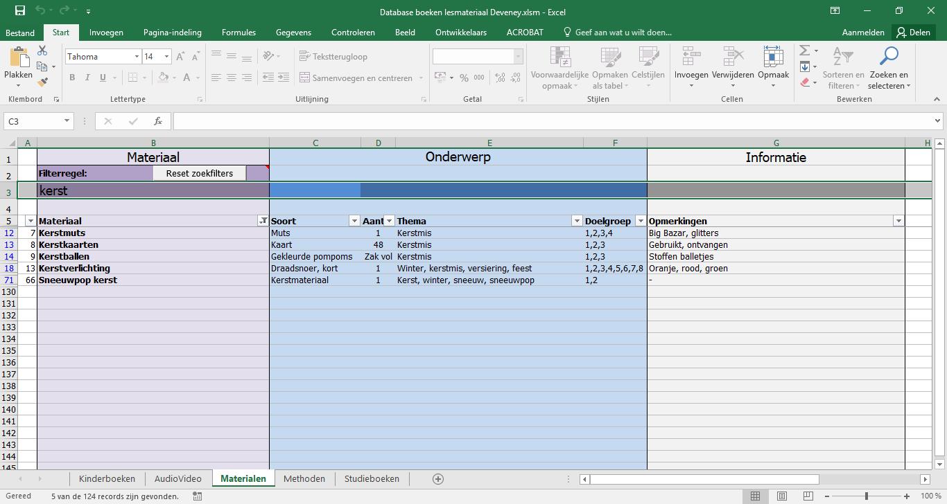 DIY: Maak een database voor al je onderwijsmaterialen
