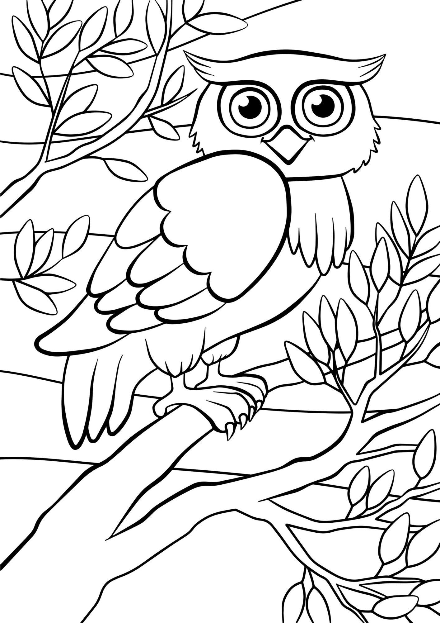 Mooi Kleurplaten Vogels In De Lente