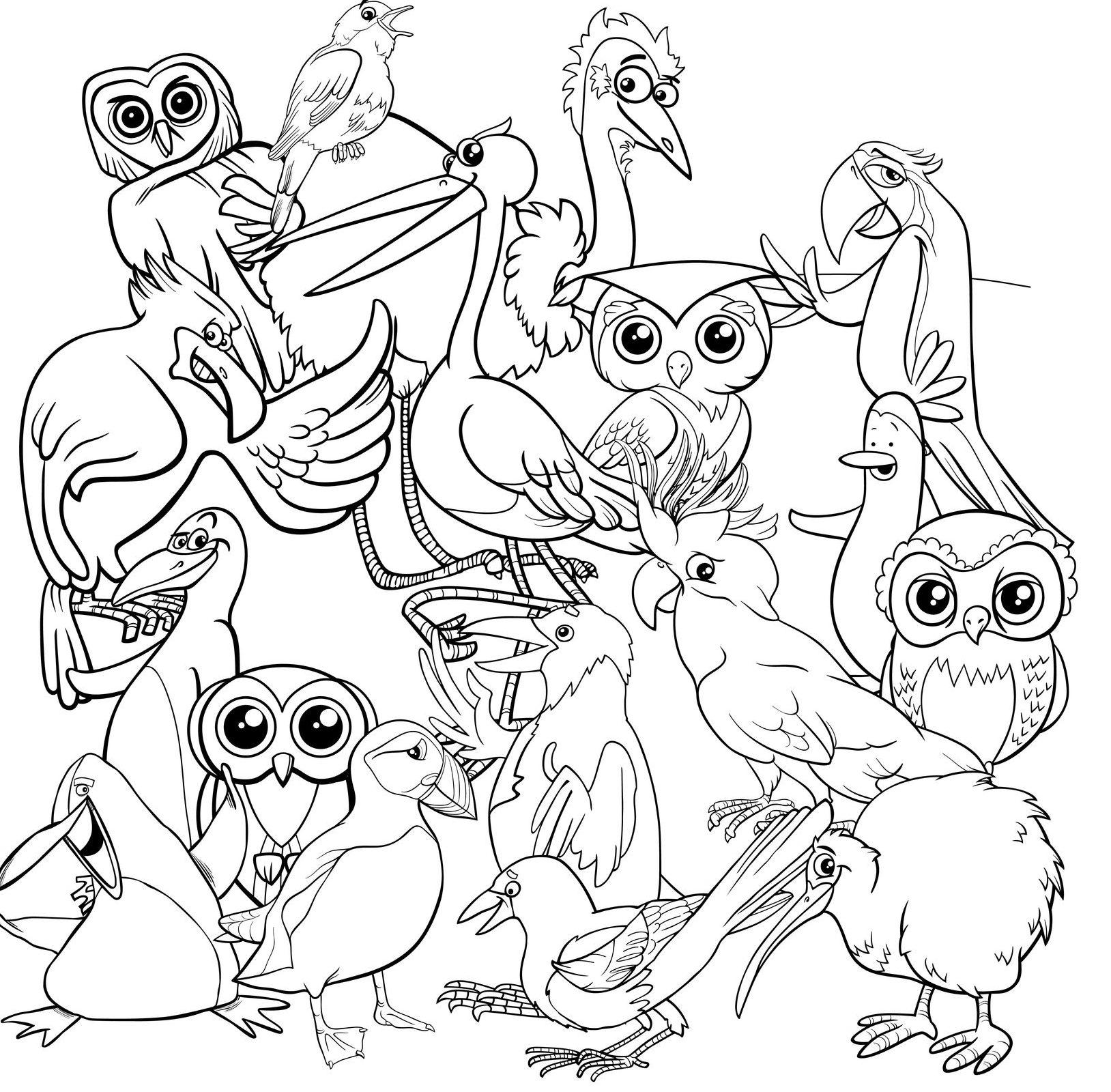 tel de vogels