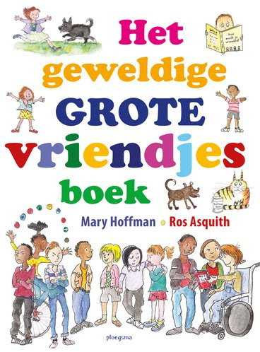 Het geweldige grote vriendjes boek