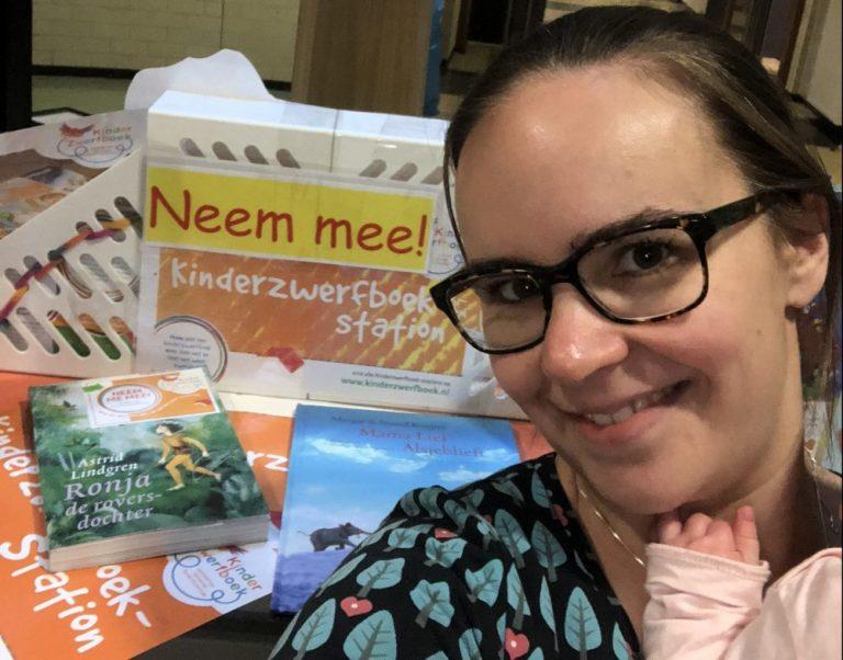 Kinderzwerfboek ambassadeur voor een dag