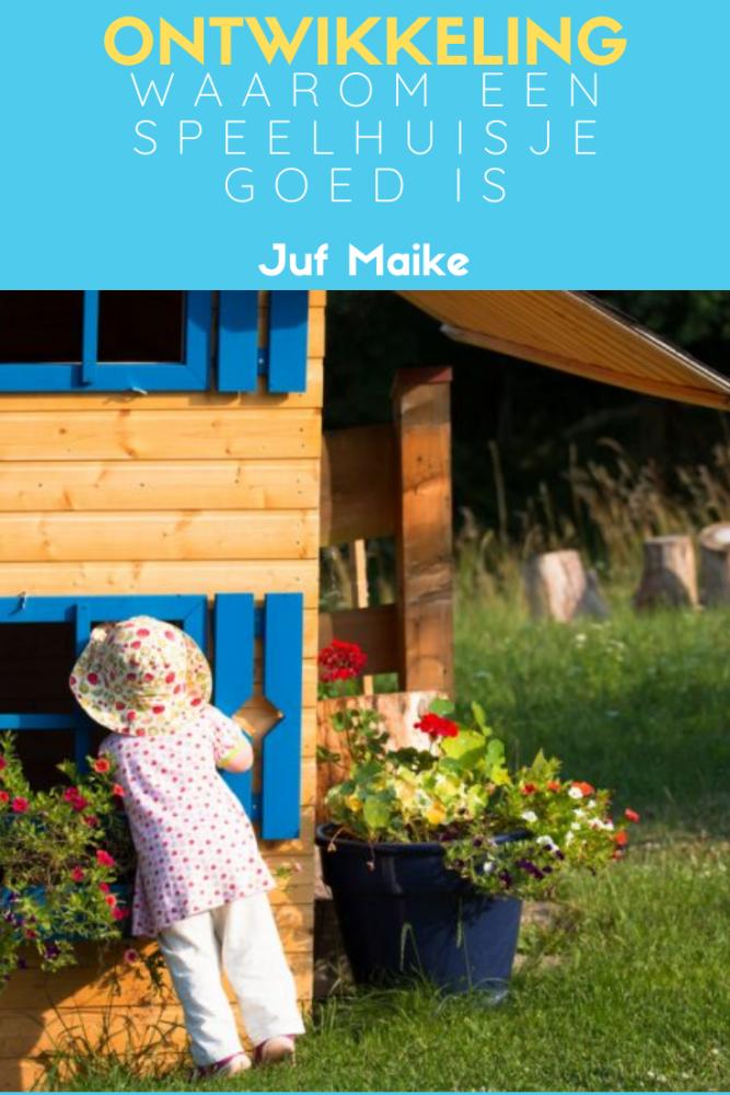 Waarom een speelhuisje goed is voor de ontwikkeling van je kind
