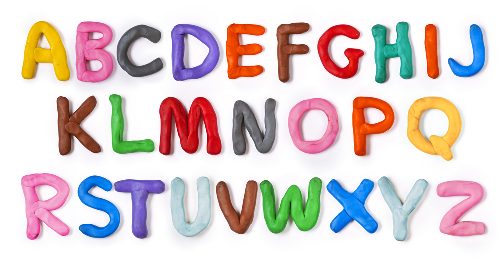 Letters kleien