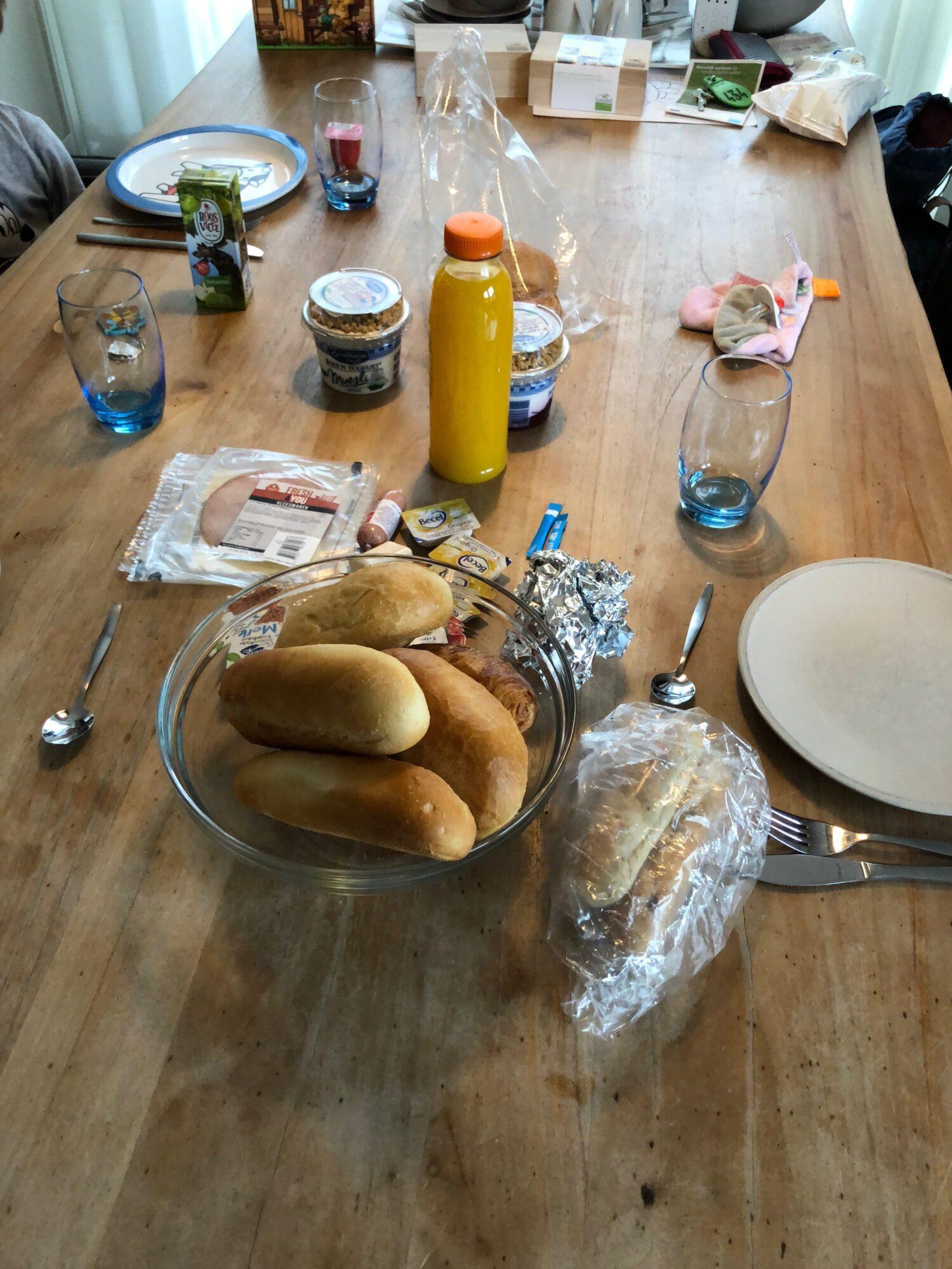 Ontbijt Parkshop Landal