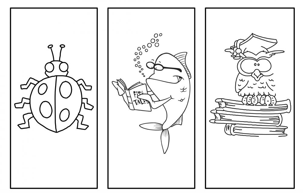 Boekenlegger dieren