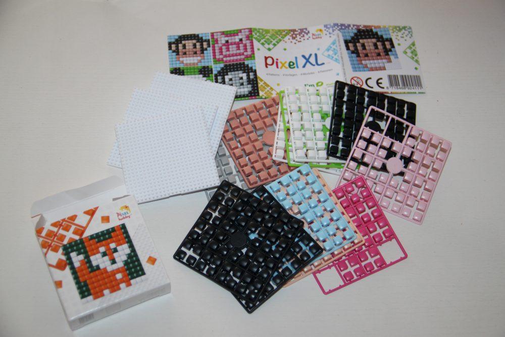 Creatief bezig zijn met schoolkind: pixels