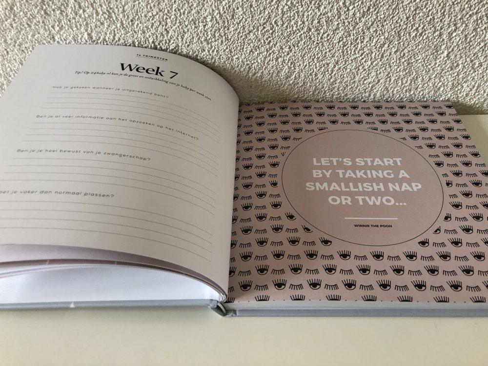 Negen-maanden-invulboek