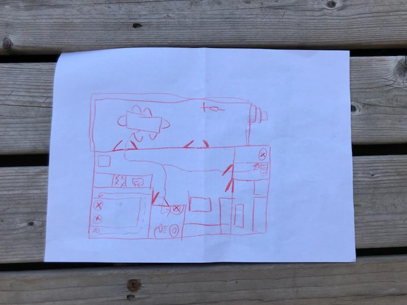 eenvoudige plattegronden (bijvoorbeeld van de klas) kunnen lezen, kunnen tekenen en kunnen toelichten