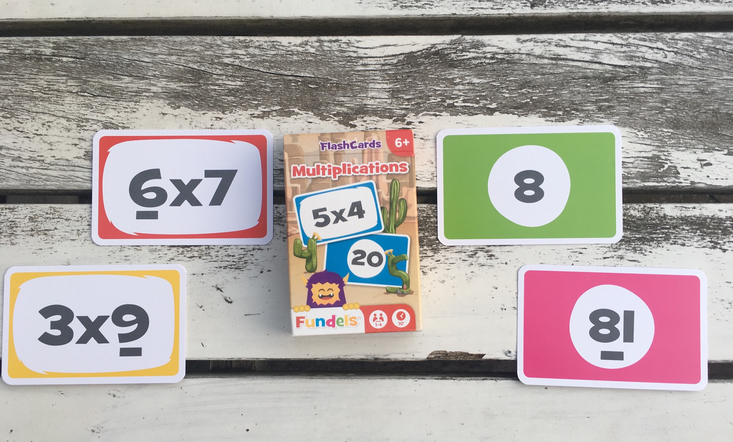 Flashcards Multiplications