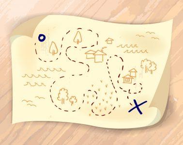Waarom het goed is om schatkaarten te tekenen met je kind