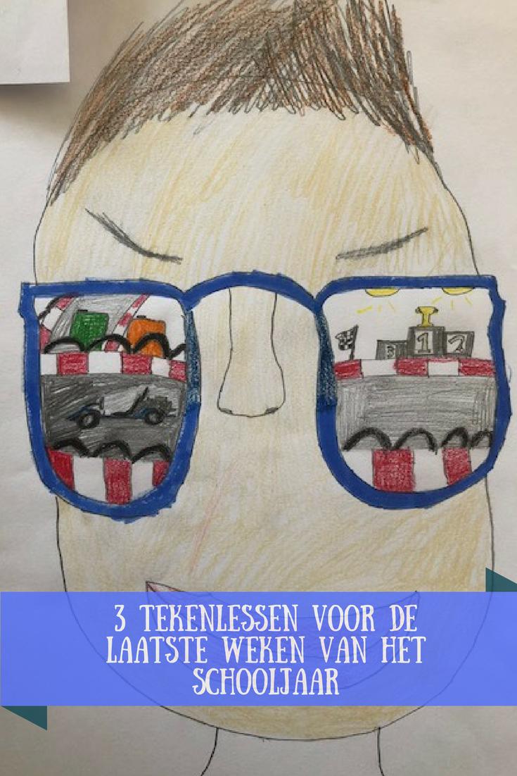 3 tekenlessen voor de laatste weken van het schooljaar