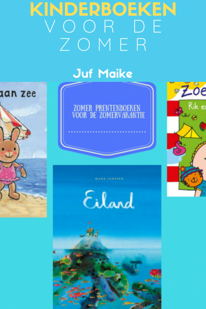 Kinderboeken thema zomer voor in de zomervakantie: Ook prentenboeken en zoekboeken