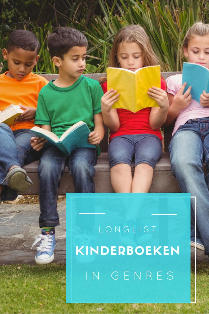 Longlist verschillende genres kinderboeken