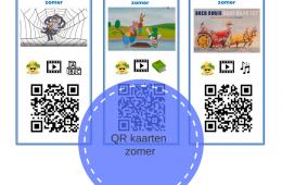 QR-kaarten bij thema Zomer
