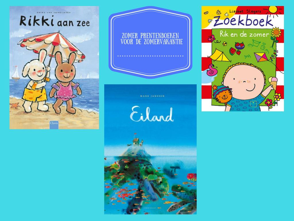 Zomer prentenboeken voor de zomervakantie