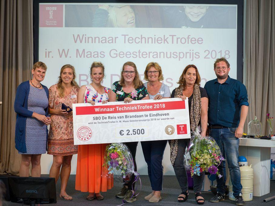Winnaar TechniekTrofee 2018 SBO De Reis van Brandaan_resultaat