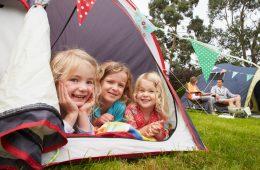 Waarom kamperen met kinderen ideaal is