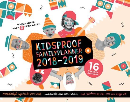 Kidsproof Familyplanner 2018-2019