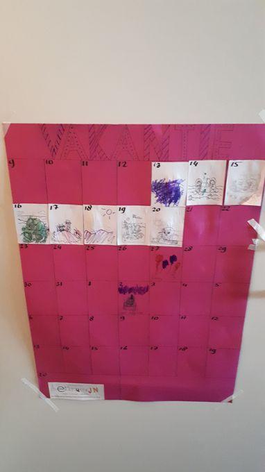 Aftelkalender maken met je kind