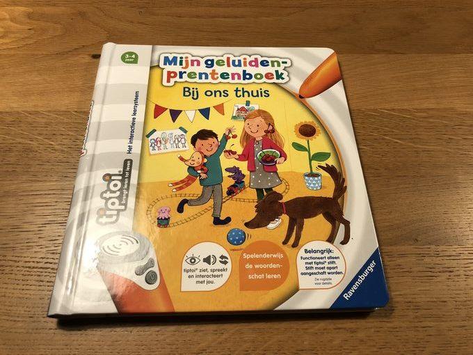 tiptoi® Starterset prentenboek Bij ons thuis