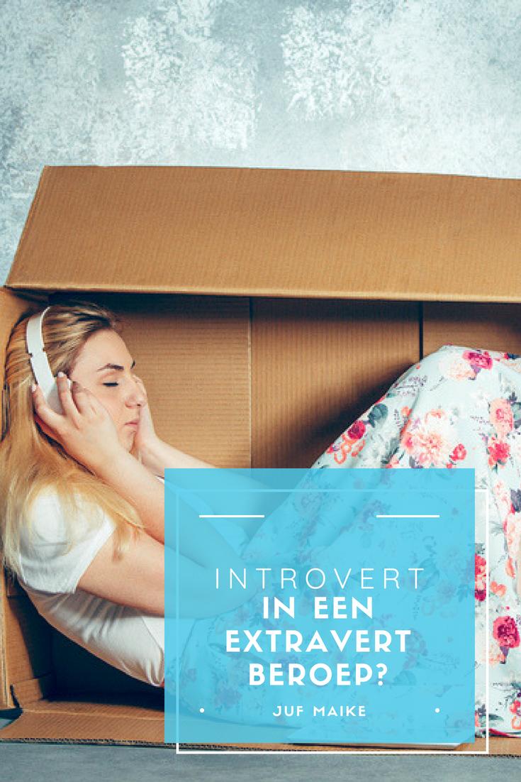 Introvert in een extravert beroep?