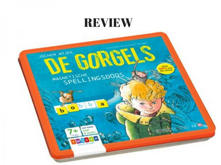 Magnetische spellingsdoos van de Gorgels