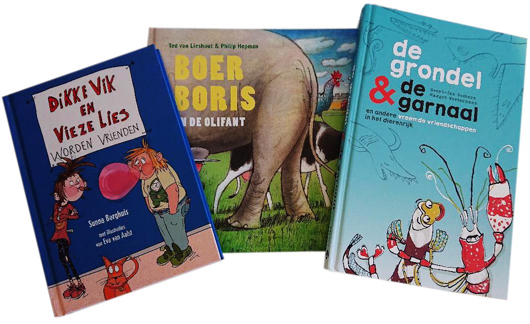 Win: pakket kerntitels Kinderboekenweek