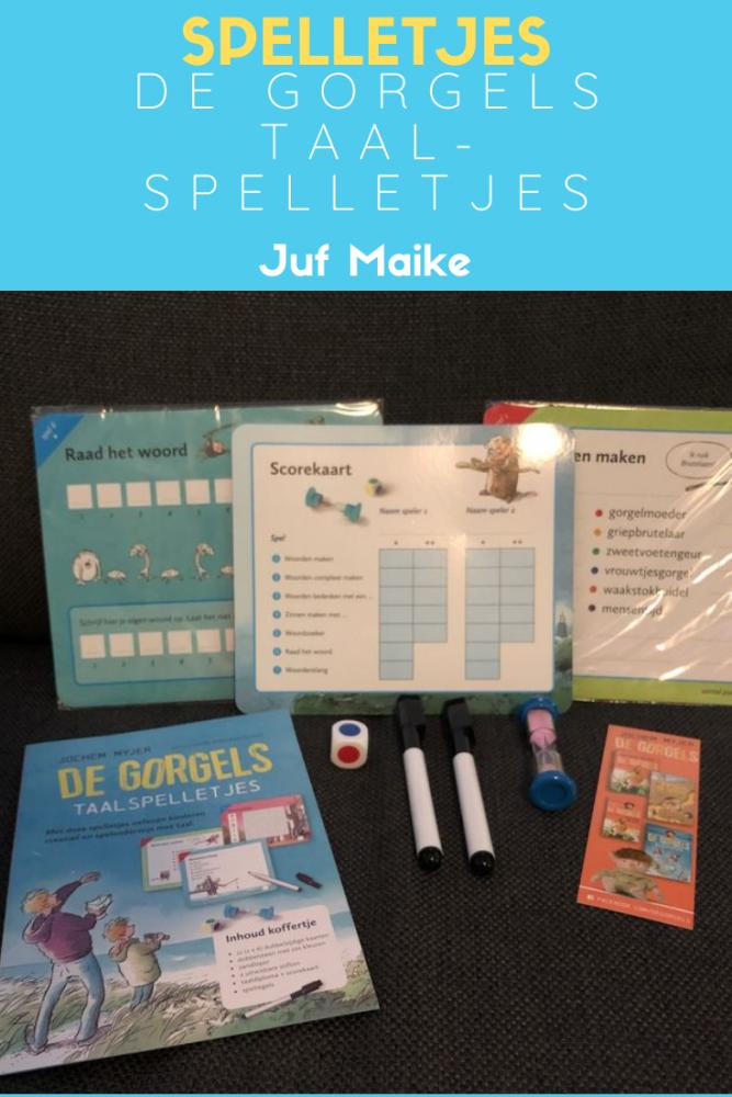 De Gorgels taalspelletjes voor kinderen vanaf 7 jaar