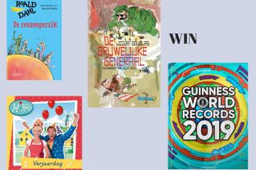 WIN Fantastisch boekenpakket van De Fontein