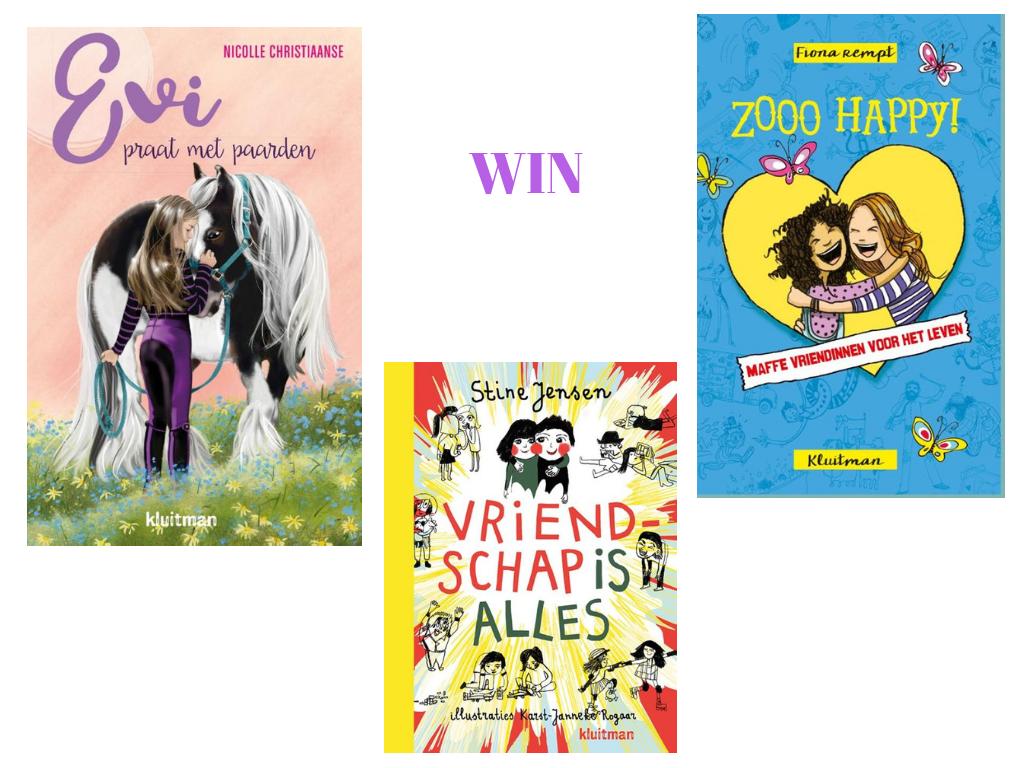 Win boekenpakket voor meiden