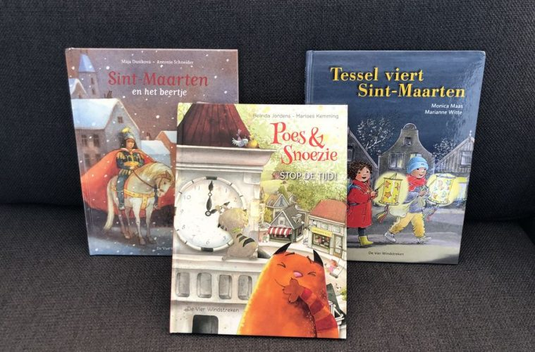Win Sint-Maarten boekenpakket