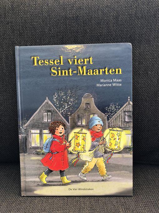 Tessa viert Sint-Maarten