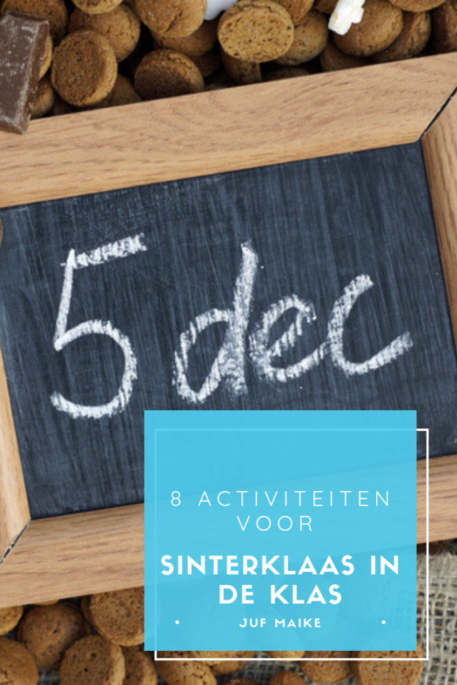 8 Activiteiten voor Sinterklaas in de klas