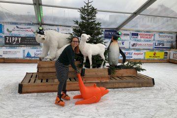 Winter Wonderland Noordwijk: schaatsen