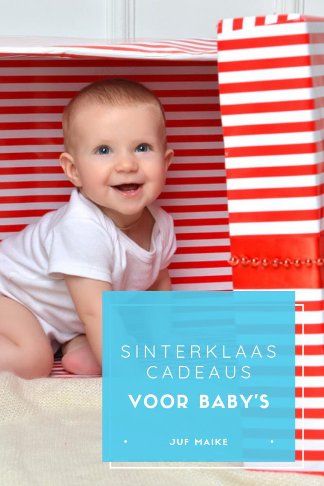 Sinterklaascadeaus voor baby's
