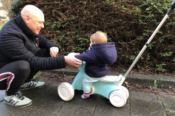 BERG GO2: toffe skelter en loopauto