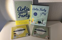 WIN Artie Farty knutselboek