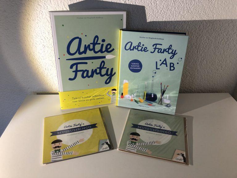 WIN Artie Farty knutselboek