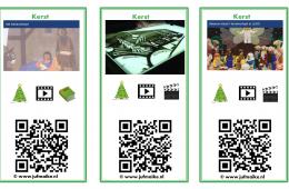 QR-kaarten Kerst groep 3