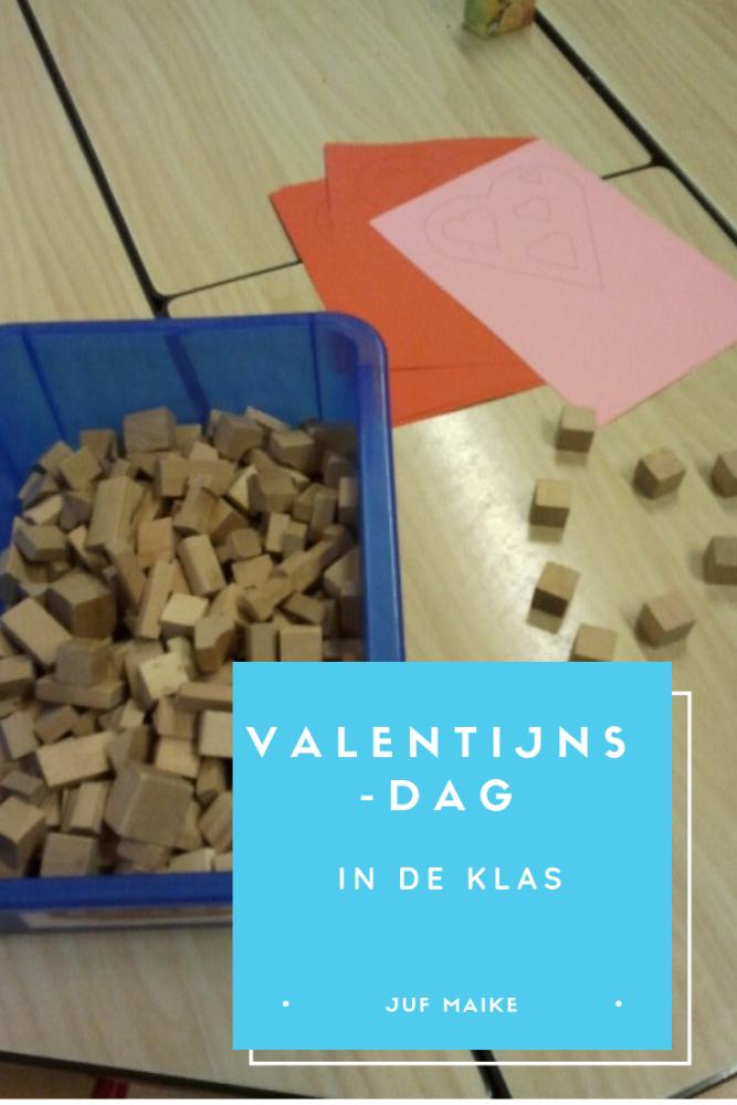 Valentijnsdag in de klas