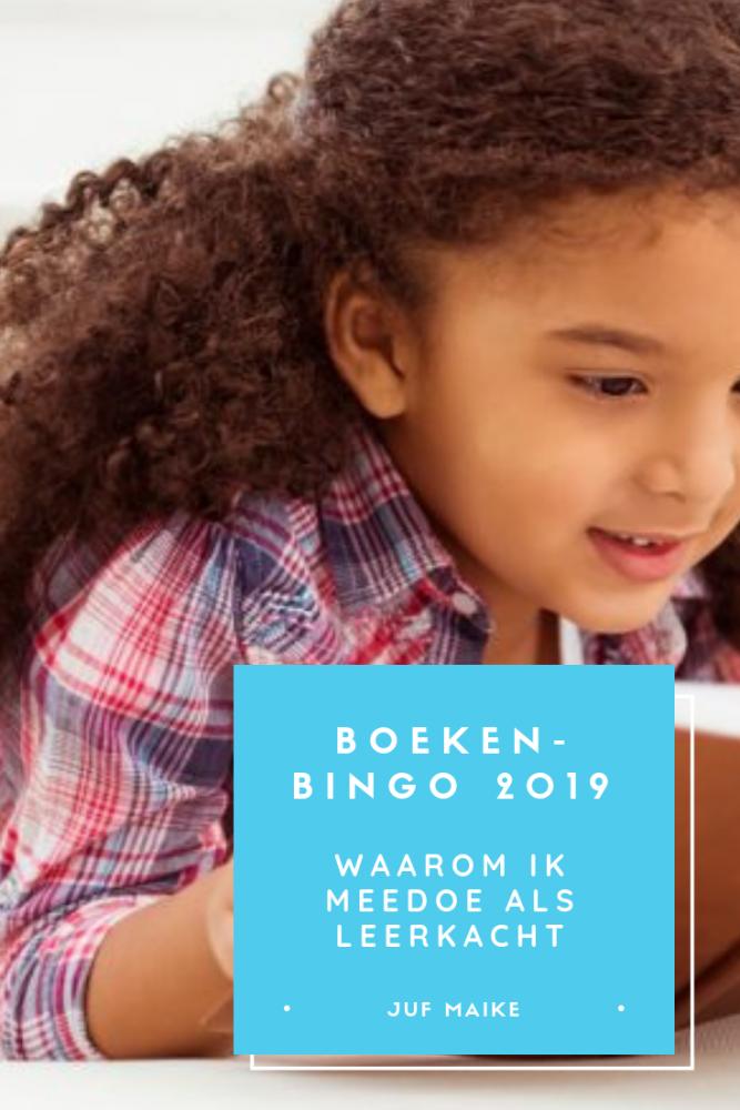 Boekenbingo 2019: waarom ik meedoe als leerkracht