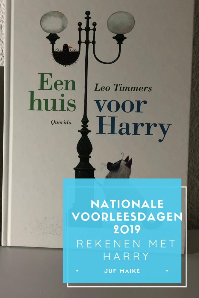 Nationale Voorleesdagen 2019: rekenen met Harry